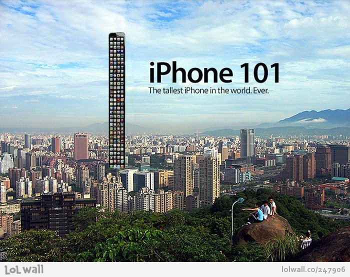 Шутки про Iphone 5