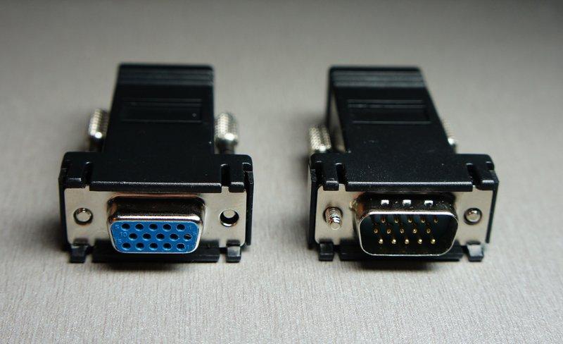 VGA по кабелю локальной сети