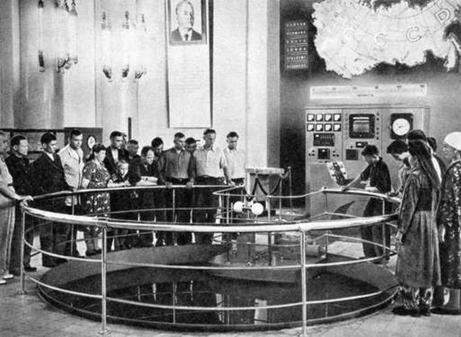 Ядерный реактор на ВДНХ