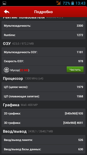 Смартфон Highscreen Zera S