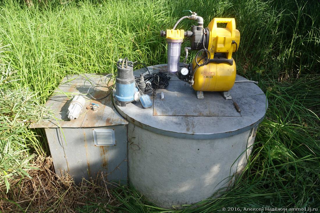 автоматика для скважинных насосов схема