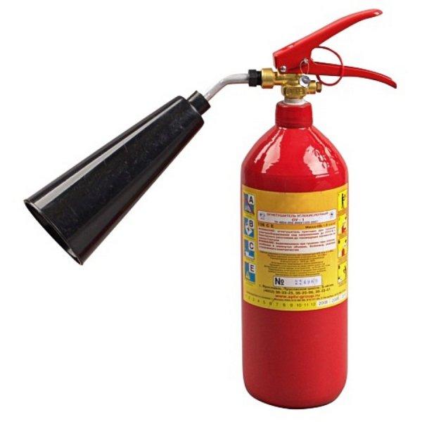 Огнетушители и последствия их применения